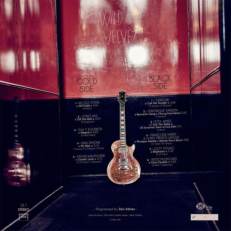 Vinyl 33T TIGRR - Playlist