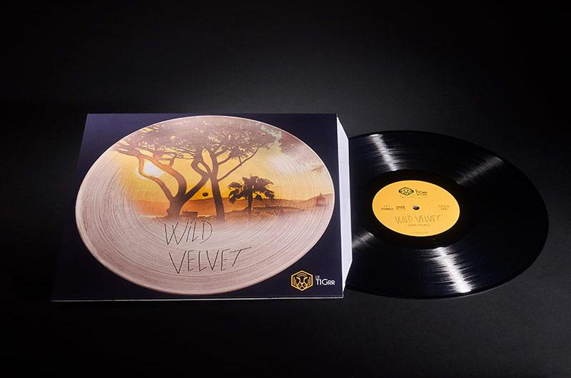 Vinyl 33T TIGRR